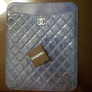 Chanel Patent leather iPad cover